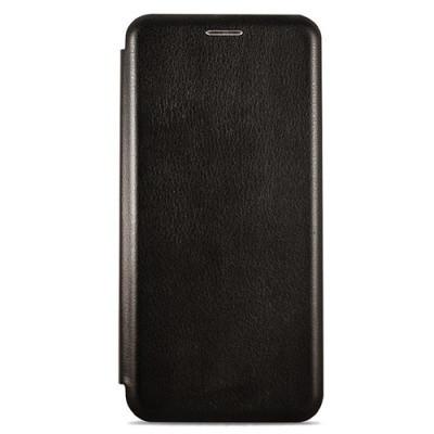 Чехол-книжка Premium Leather Realme 5 Pro - Чёрный
