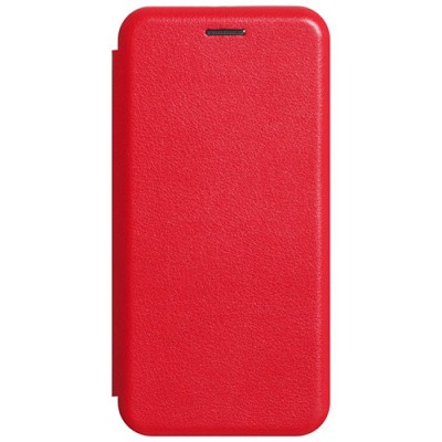 Чехол-книжка Premium Leather Realme 5 Pro - Красный
