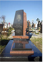 Встановлення пам'ятників в селі Лище