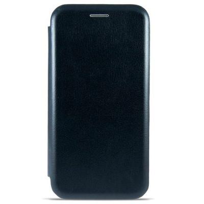 Чехол-книжка Premium Leather Vivo Y91 - Чёрный