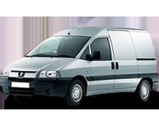 Дефлектор на капот (Мухобойки) для Peugeot (Пежо) Expert I 1995-2007
