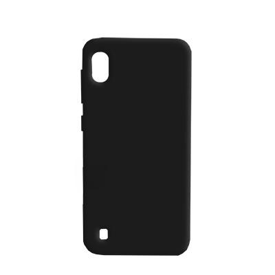 Силиконовый чехол SMTT Samsung A105 Galaxy A10/M105 Galaxy  M10 (Чёрный)