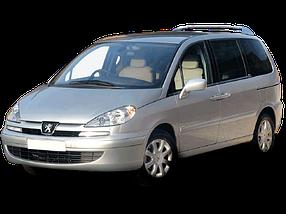 Дефлектор на капот (Мухобойки) для Peugeot (Пежо) 807 2002-2014