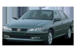 Дефлектор на капот (Мухобойки) для Peugeot (Пежо) 406 1995-2004