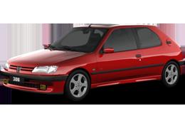 Дефлектор на капот (Мухобойки) для Peugeot (Пежо) 306 1993-2002