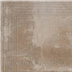 Клинкерная ступень Cerrad Piatto Sand угловая