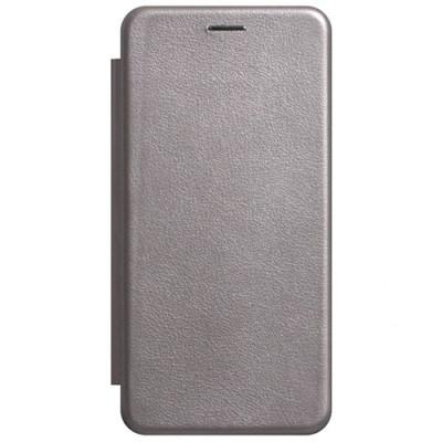 Чехол-книжка Premium Leather Huawei Y5 2019 (AMN-LX9) - Серый