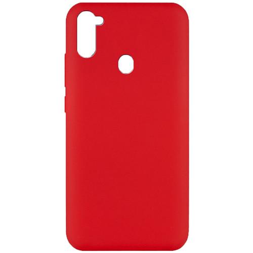 Силиконовый чехол Soft Silicone Case Samsung A115 Galaxy  A11/M115 Galaxy M11 Red