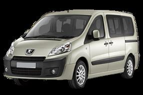 Дефлектор на капот (Мухобойки) для Peugeot (Пежо) Expert II 2007-2016