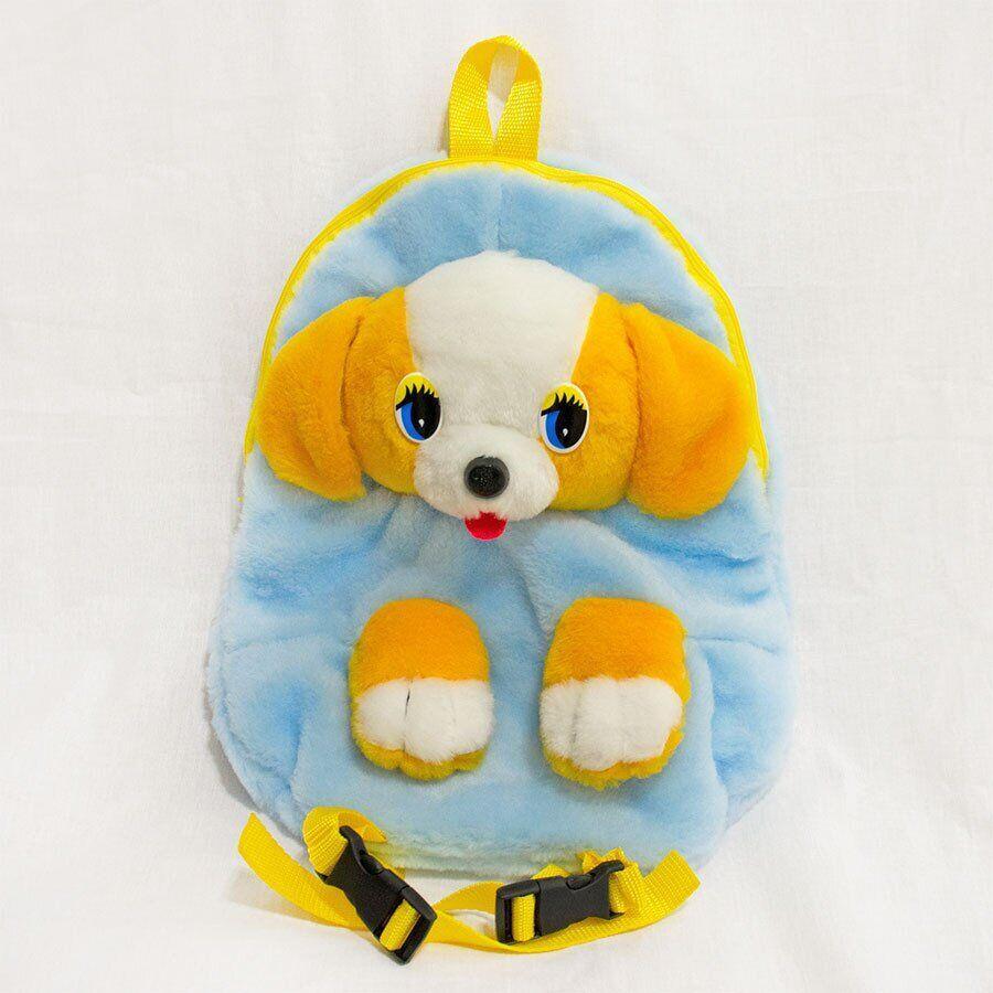 Рюкзак детский Zolushka Собака 32см голубо-желтый (2881)