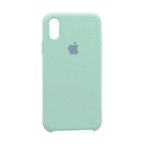 Чехол Original Soft Case iPhone X/XS (44) Marine Green
