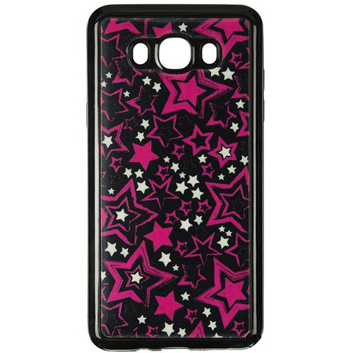Силиконовый чехол Night Series Samsung J510 Galaxy J5 2016  Black (Stars)