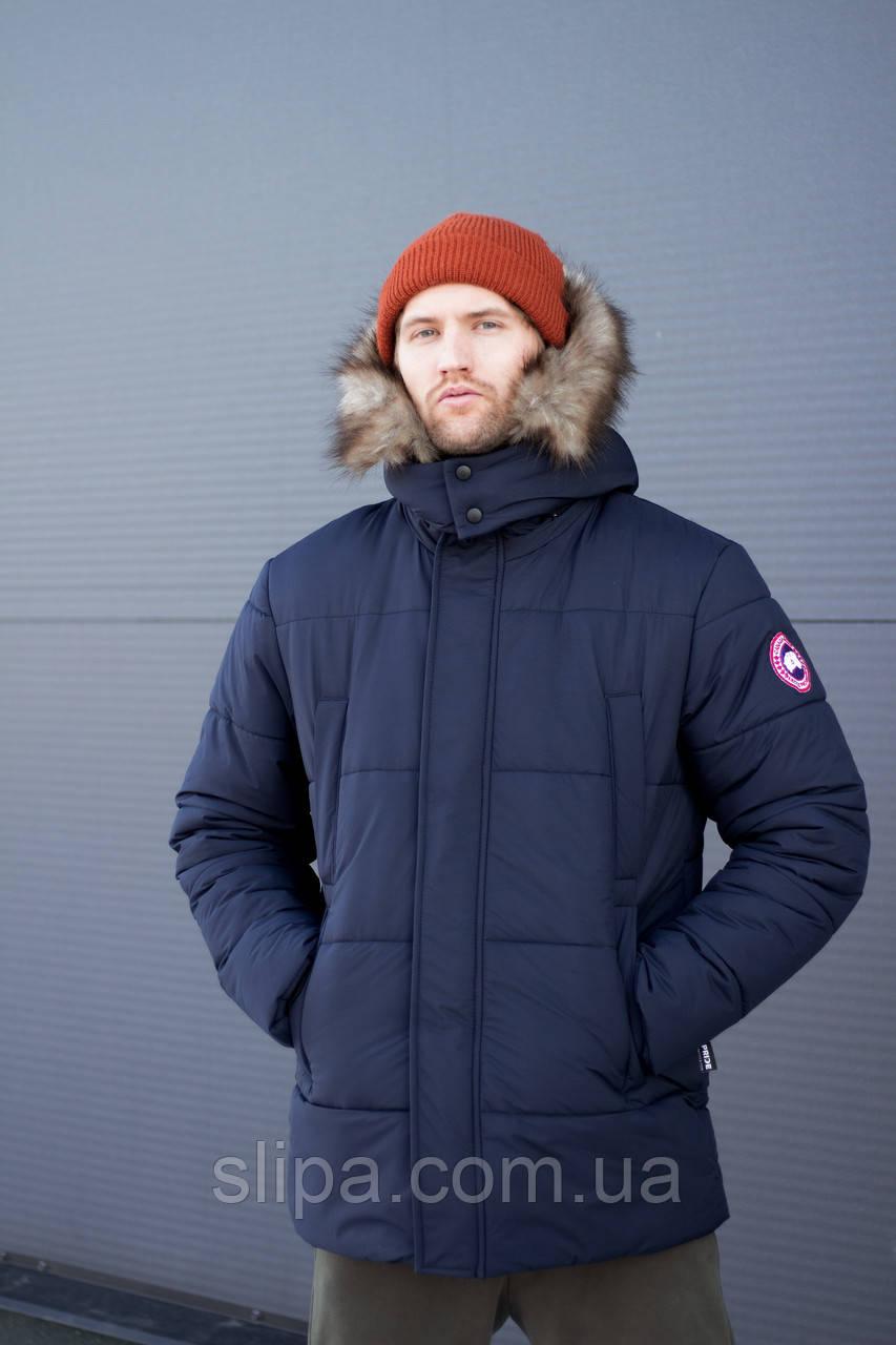 Чоловіча зимова куртка Canada Goose Arctic Program синя