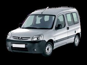 Дефлектор на капот (Мухобойки) для Peugeot (Пежо) Partner I 1996-2008