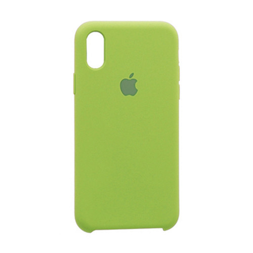 Чехол Original Soft Case iPhone XR (31) Green