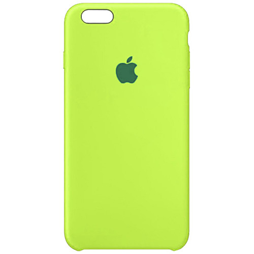 Чехол Original Soft Case iPhone 6/6S (60) Ultra Green