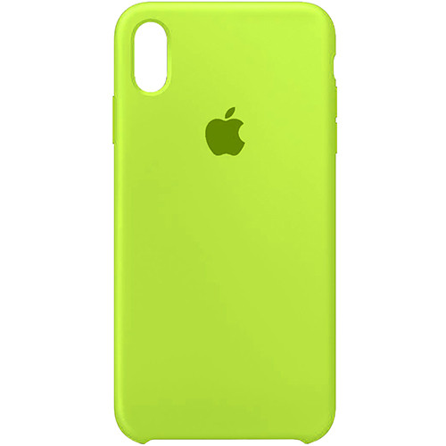 Чехол Original Soft Case iPhone X/XS (60) Ultra Green