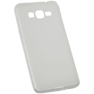 Силиконовый чехол Premium Slim Samsung J500 Galaxy J5 (серый)