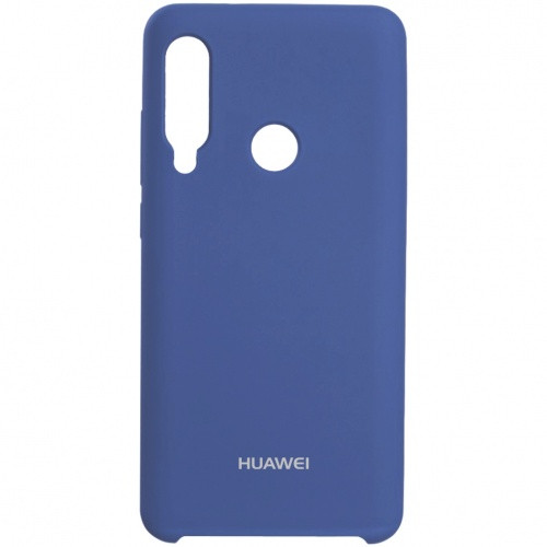 Чехол New Original Soft Case Huawei P40 Lite E (ART-L29)/Y7P (ART-L28)  (16) Blue Horizon