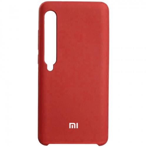 Чехол New Original Soft Case Xiaomi Mi 10 (01) Red