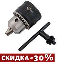 """Патрон для дрели с ключом Intertool - 1/2"""" х 20, 3-16 мм"""