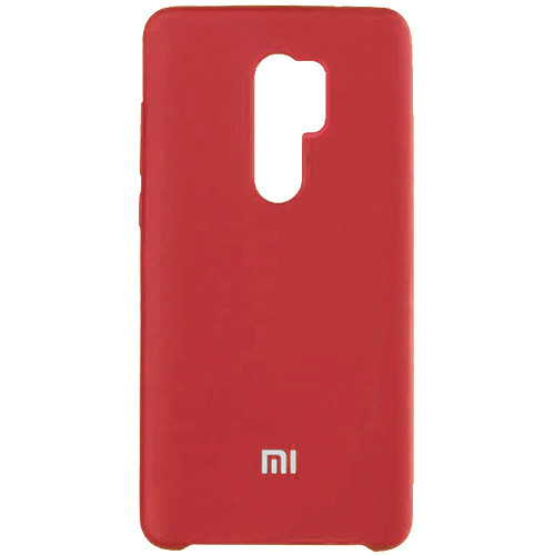 Чехол New Original Soft Case Xiaomi Redmi 9 (01) Red