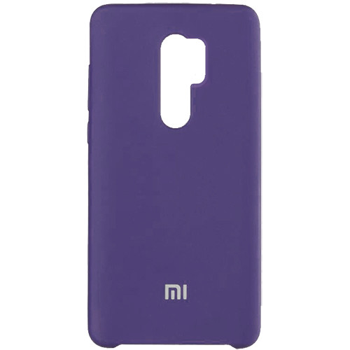 Чехол New Original Soft Case Xiaomi Redmi 9 (07) Dark Purple