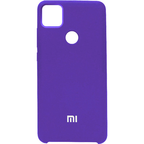 Чехол New Original Soft Case Xiaomi Redmi 9C (07) Dark Purple