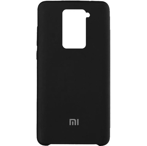 Чехол New Original Soft Case Xiaomi Redmi Note 9 (03) Black