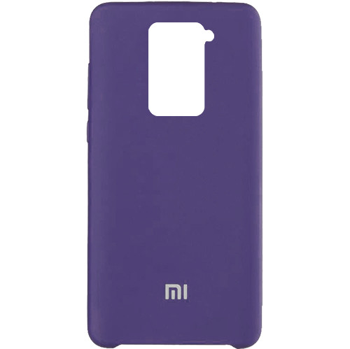 Чехол New Original Soft Case Xiaomi Redmi Note 9 (07) Dark Purple
