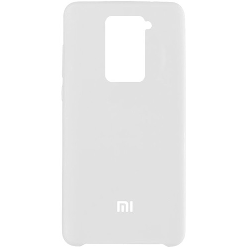 Чехол New Original Soft Case Xiaomi Redmi Note 9 (09) White