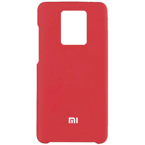 Чехол New Original Soft Case Xiaomi Redmi Note 9S/Note 9 Pro (01)  Red