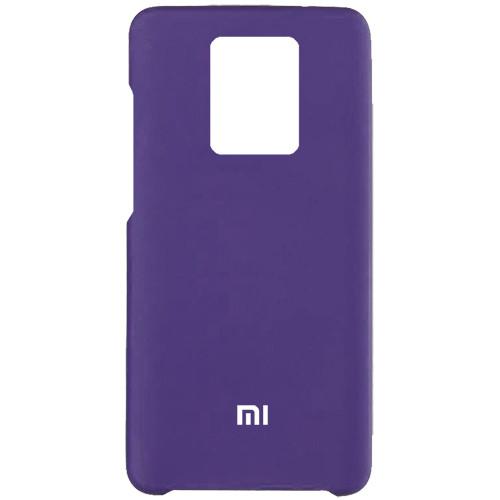 Чехол New Original Soft Case Xiaomi Redmi Note 9S/Note 9 Pro (07)  Dark Purple