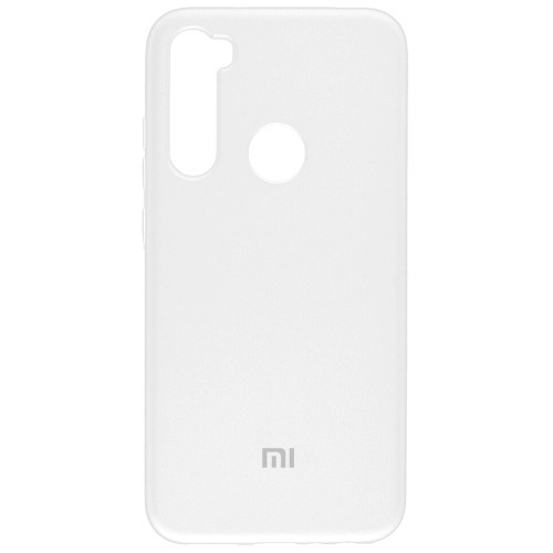 Чехол New Original Soft Case Xiaomi Redmi Note 8 (09) White