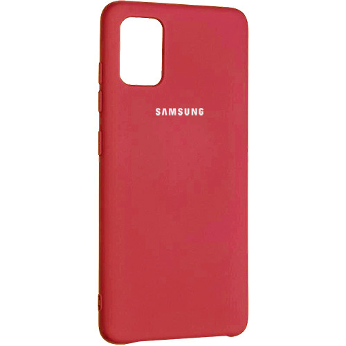 Чехол New Original Soft Case Samsung A315 Galaxy A31 (01) Red