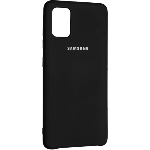 Чехол New Original Soft Case Samsung A315 Galaxy A31 (03) Black