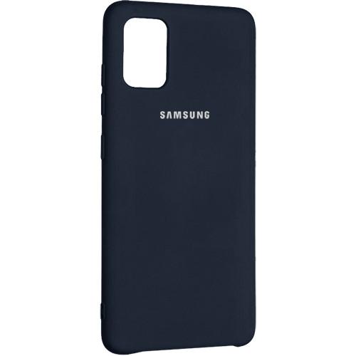 Чехол New Original Soft Case Samsung A315 Galaxy A31 (08) Dark Blue