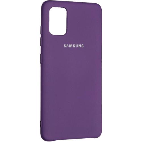 Чехол New Original Soft Case Samsung A315 Galaxy A31 (14) Purple