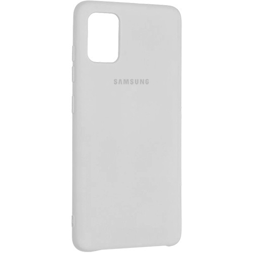 Чехол New Original Soft Case Samsung A515 Galaxy A51 (09) White