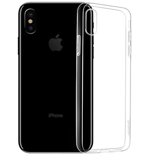 "Силиконовый чехол Hoco ""Crystal Clear series TPU"" iPhone  XS Max 6.5"" (прозрачный)"