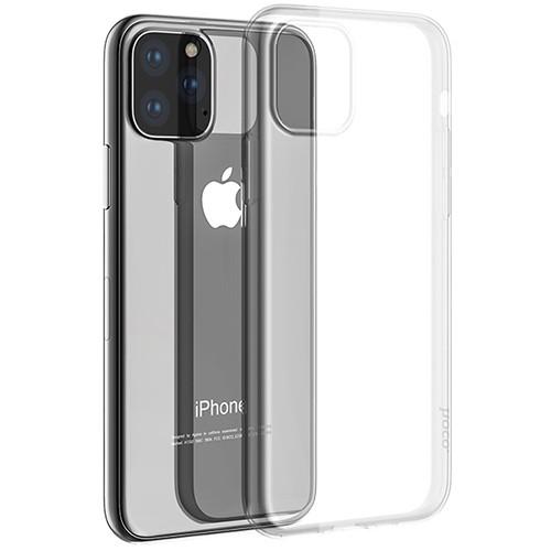 """Силиконовый чехол HOCO """"Light series TPU"""" iPhone 11 Pro  Max 6.5"""" (прозрачный)"""