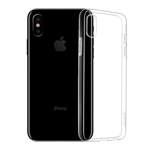 Силиконовый чехол Hoco Light iPhone XS Max (прозрачный)
