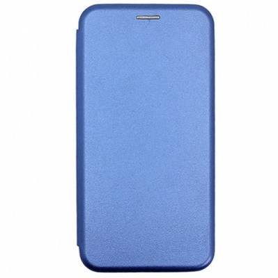 Чехол-книжка Premium Leather Huawei P Smart 2020 (POT-LX1A)  - Синий