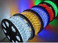 Светодиодная лента LED 3528 Бухта 100м Зеленые, синие, красные, белые диоды