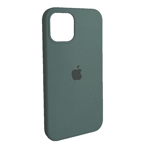 Чехол Original Soft Case iPhone 12 Mini (58) Pine Green