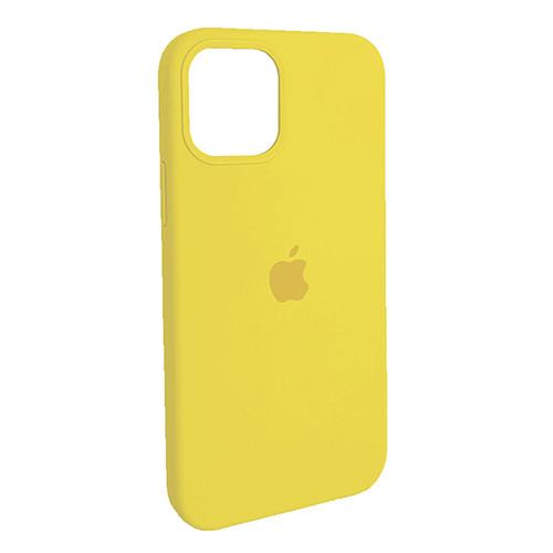 Чехол Original Soft Case iPhone 12/12 Pro (04) Yellow