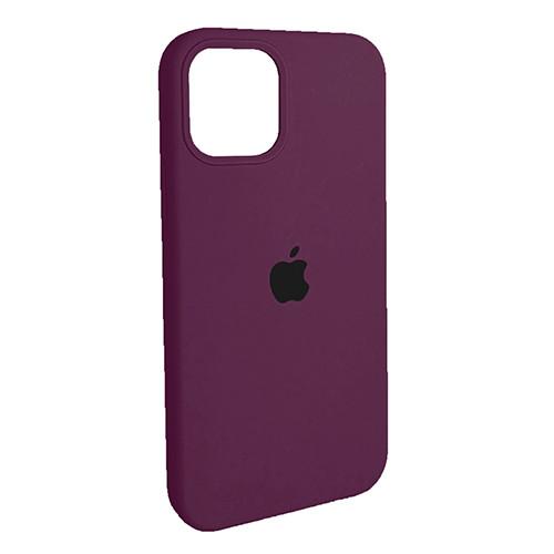 Чехол Original Soft Case iPhone 12 Pro Max (52) Bordo