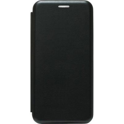 Чехол-книжка Premium Leather Samsung A013 Galaxy A01 Core -  Чёрный