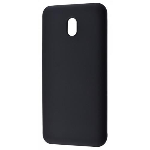 Силиконовый чехол Soft Silicone Case Xiaomi Redmi 8A Black