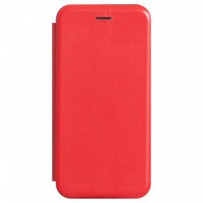 Чехол-книжка Premium Leather Xiaomi Redmi 9C - Красный